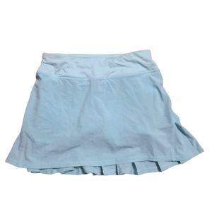 Lululemon skort women's size 2 light blue